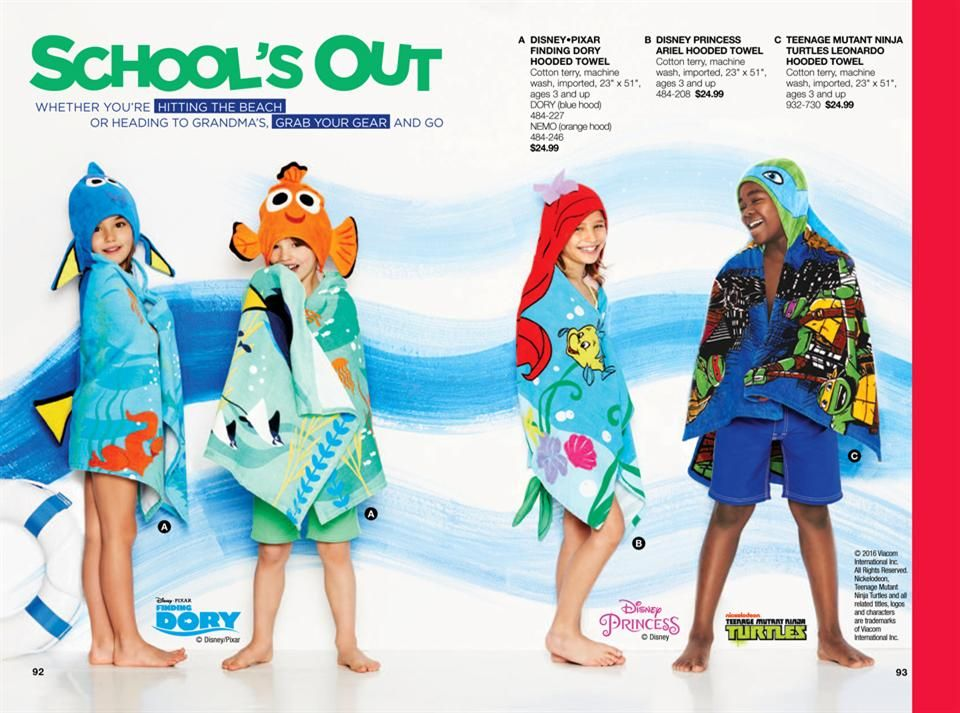 AVON for KIDS They will LOVE these beach towels even at home Fun