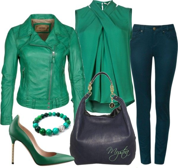 """""""Green piece :)"""" by cafemystra on Polyvore"""