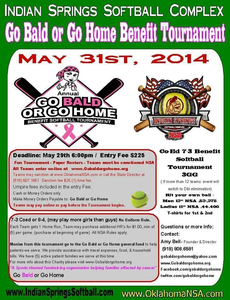 Annual GBGH Co-Ed Softball Tournament.   Upcoming Go Bald ...