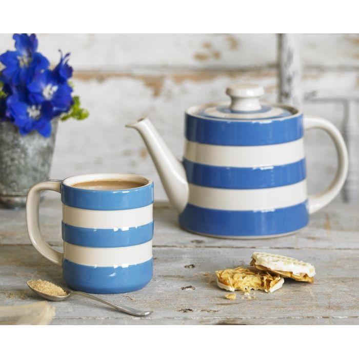 Teapot 68cl 24oz Cornishware Classic British Kitchenware By T G Green