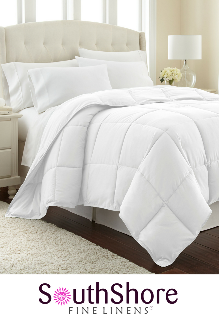 All Season Classic Plush Down Alternative Comforters By Vilano Springs In 2020 Comforter Sets Comforters Queen Size Bed Frames