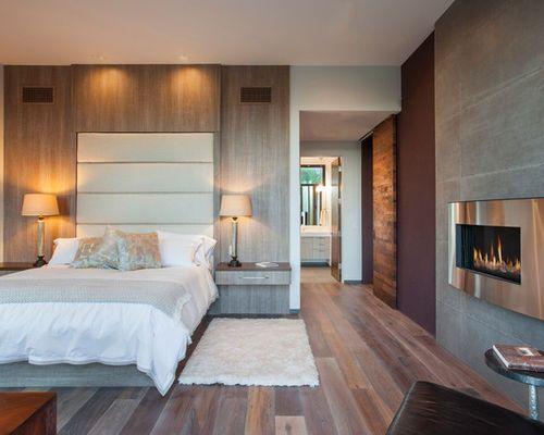 Inspiration pour une chambre adulte design de taille for Taille moyenne chambre