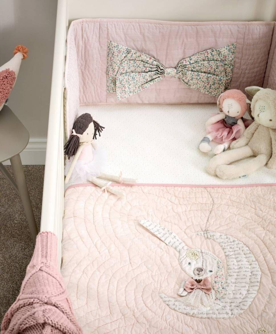 Nursery Bedding Mamas /& Papas Millie and Boris Unisex Bumper