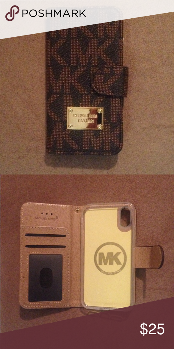new product 5e66f a4a92 New MK Flip Case Wallet for iPhone