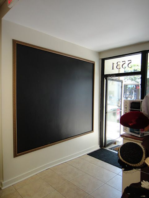 kelle dame: A (very large) Blank Canvas...