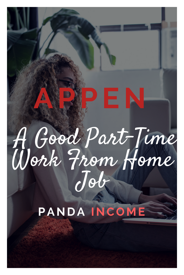 Appen Review A Good Part Time Work From Home Job Appen Maybe