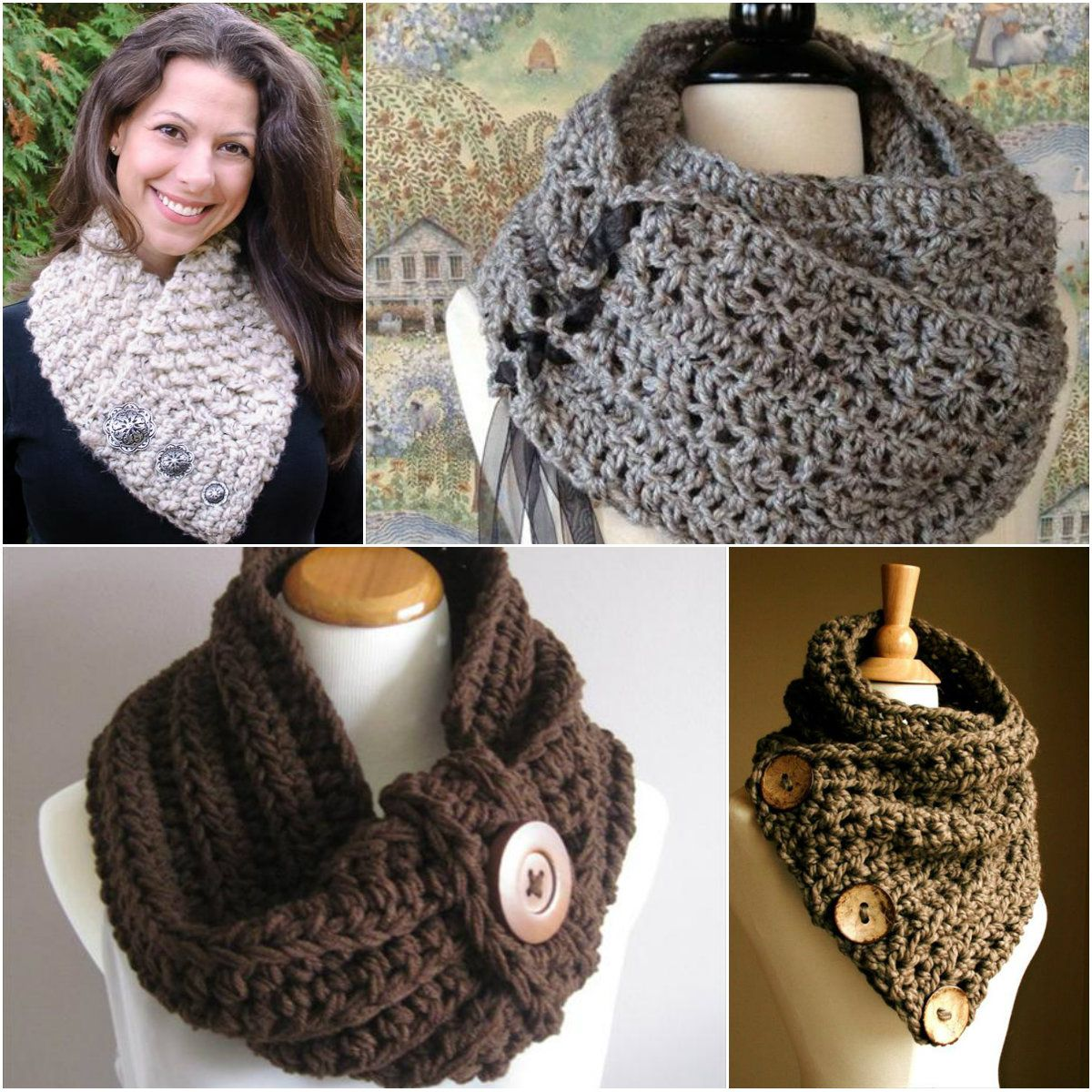 10 distinctive and free crochet cowl video patterns 10 distinctive and free crochet cowl video patterns 1001diydesigns bankloansurffo Gallery