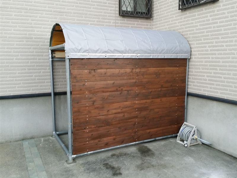 diy自転車置き場 ゚ ゚ 自転車置場 Diy 自転車 自転車小屋