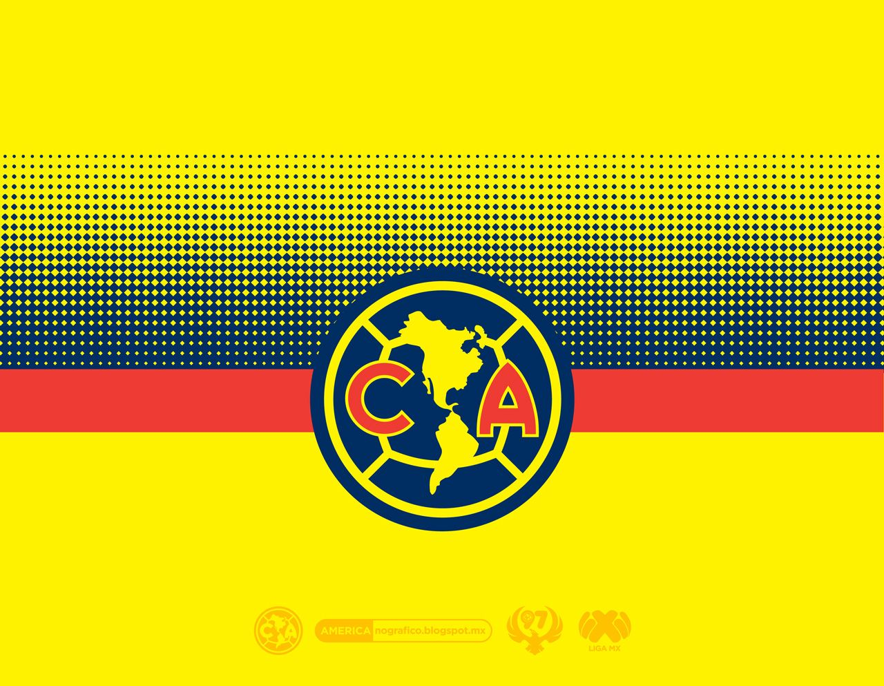 Club América Wallpaper • #AMERICAnografico   América   Club america, America, Club