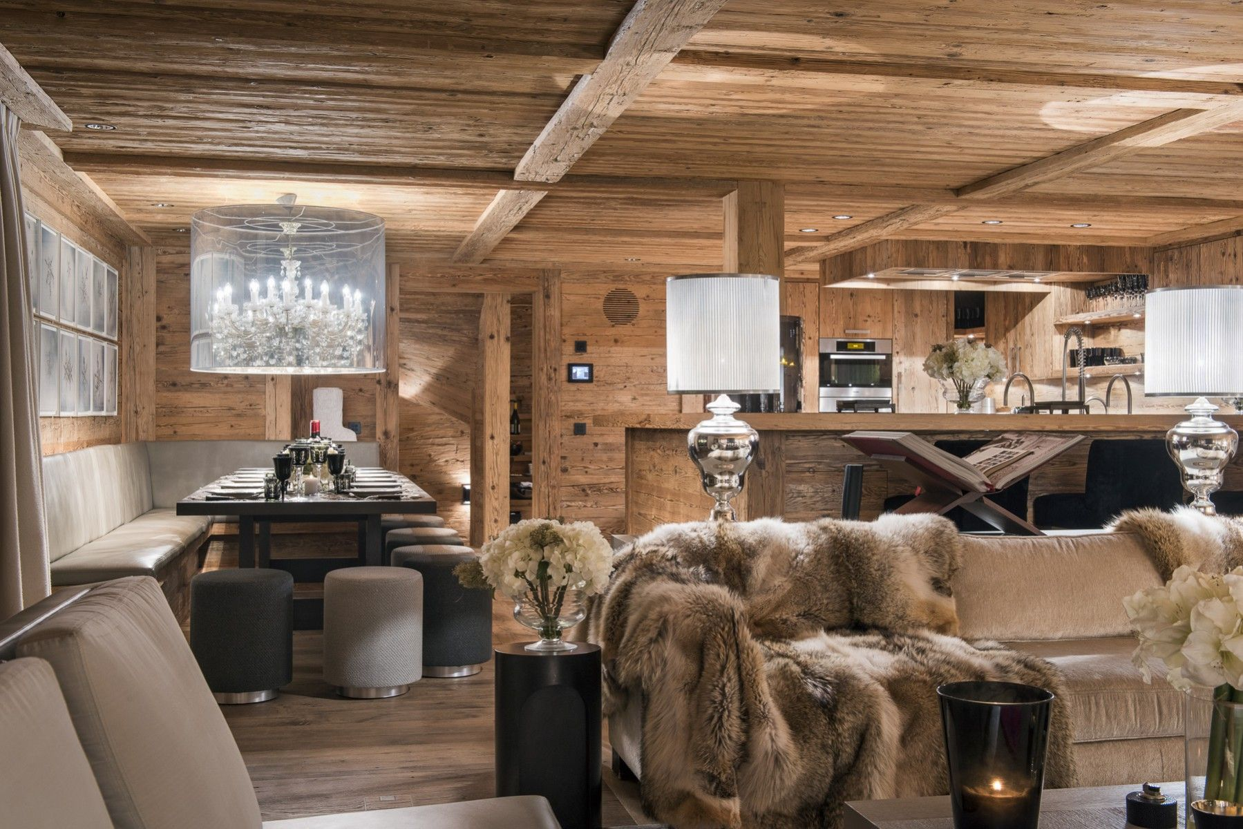 Amala Top Luxus Chalet in Gstaad Rustic house, Chalet