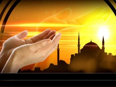 Quran template backgrounds pinteres praying with mosque free template presentation background toneelgroepblik Choice Image
