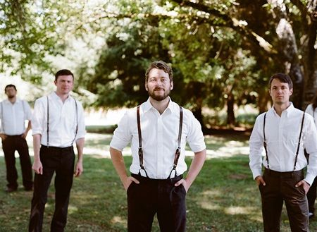 Casual Groomsmen Attire Ideas | Groom & Groomsmen Looks ...