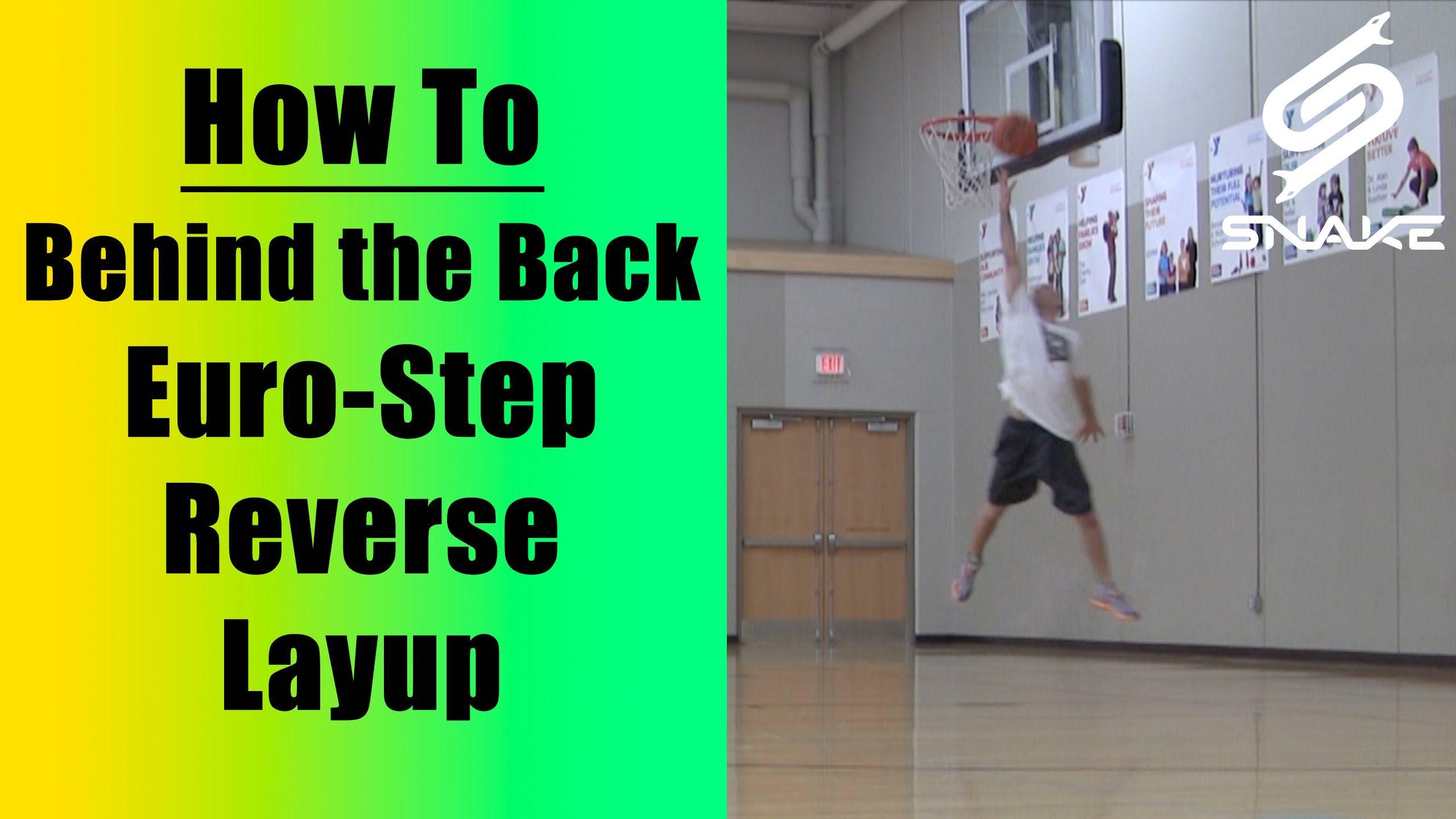 Sick Behind The Back Eurostep Reverse Finish Basketball Layup