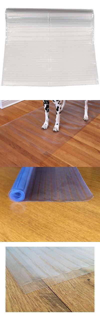 Clear Vinyl Plastic Floor Runner