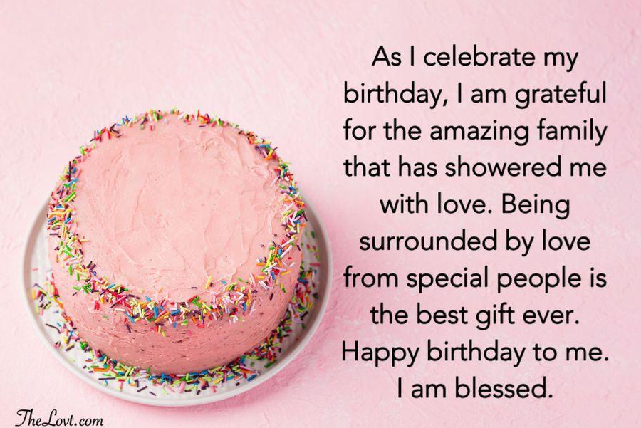 Heartfelt Birthday Wishes For Myself Thelovt Birthday Wishes For Myself Happy Birthday Wishes Quotes Happy Birthday Captions