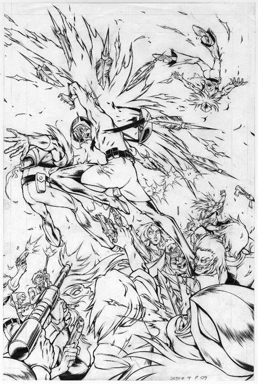 Jason g2 in full on action top cow botp comic penciled by Wilson ...
