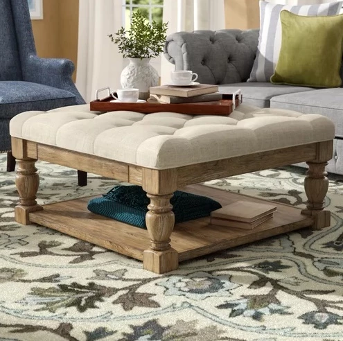 Back East Tufted Cocktail Ottoman By Three Posts Trendingtop10