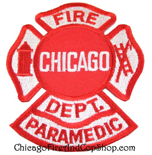 6266 Chicago Fire Department Paramedic Patch Www