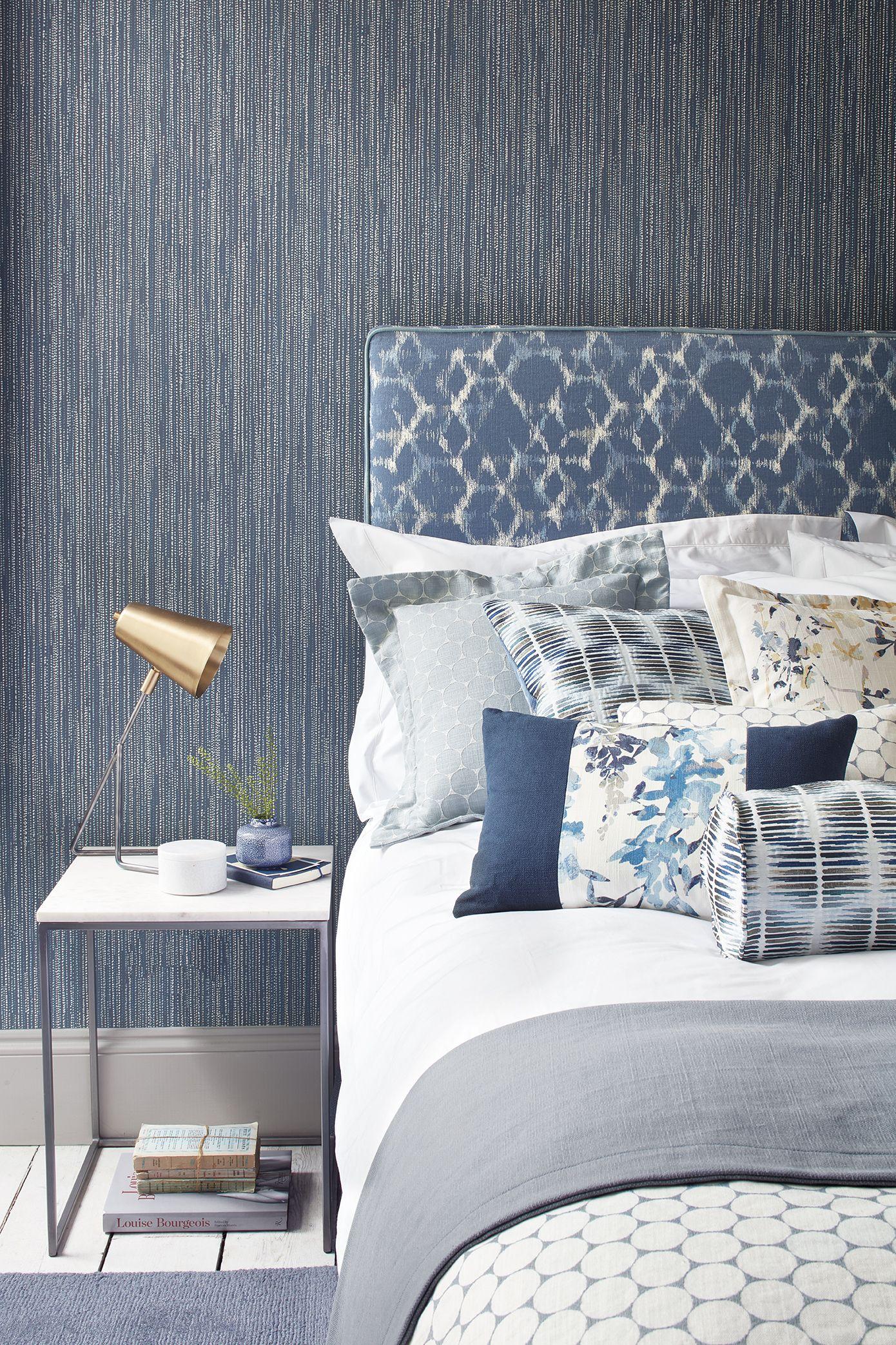 auch verschiedene blaut ne zusammen kombiniert wirken sehr harmonisch und einladend foto villa. Black Bedroom Furniture Sets. Home Design Ideas