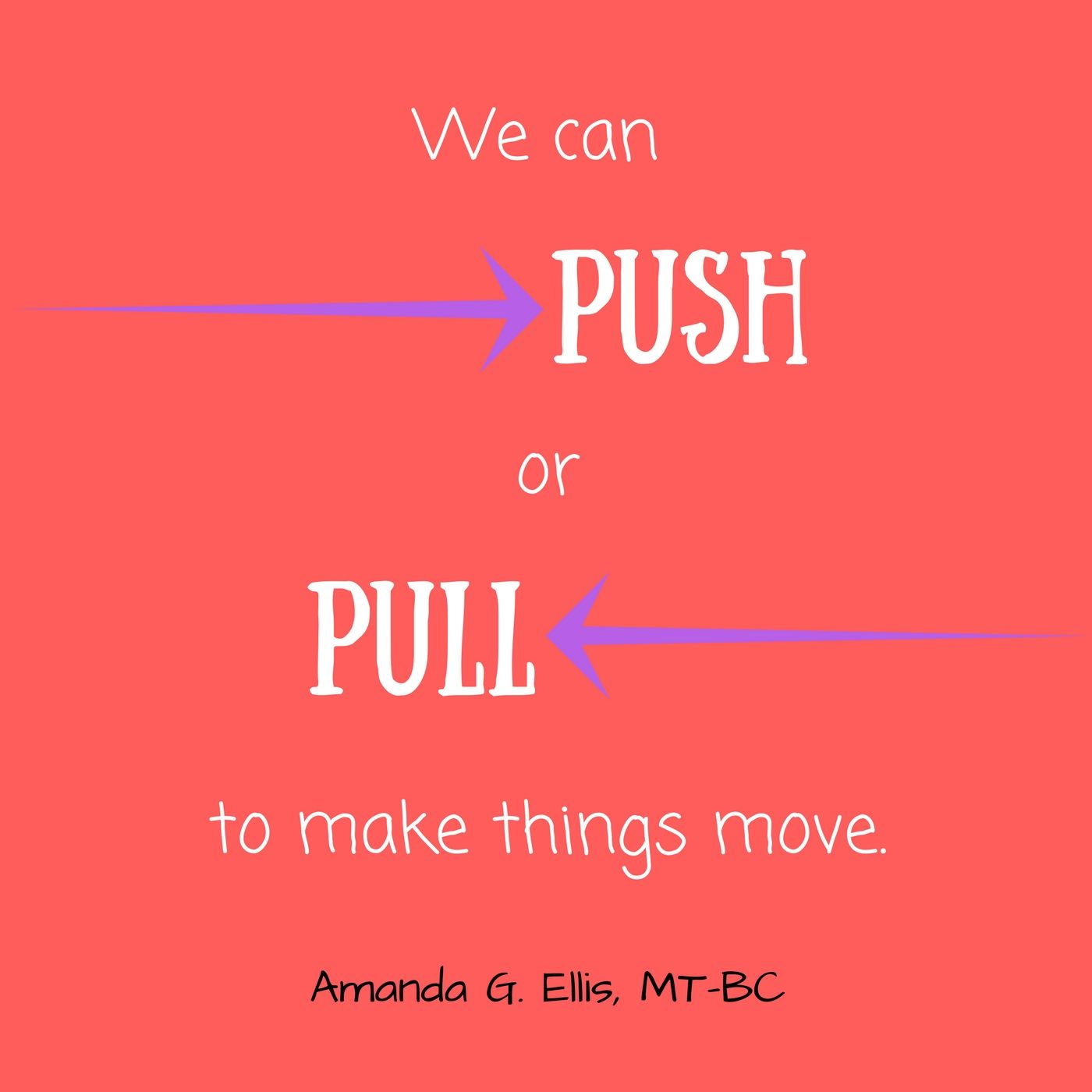 Science And Motion Push Or Pull