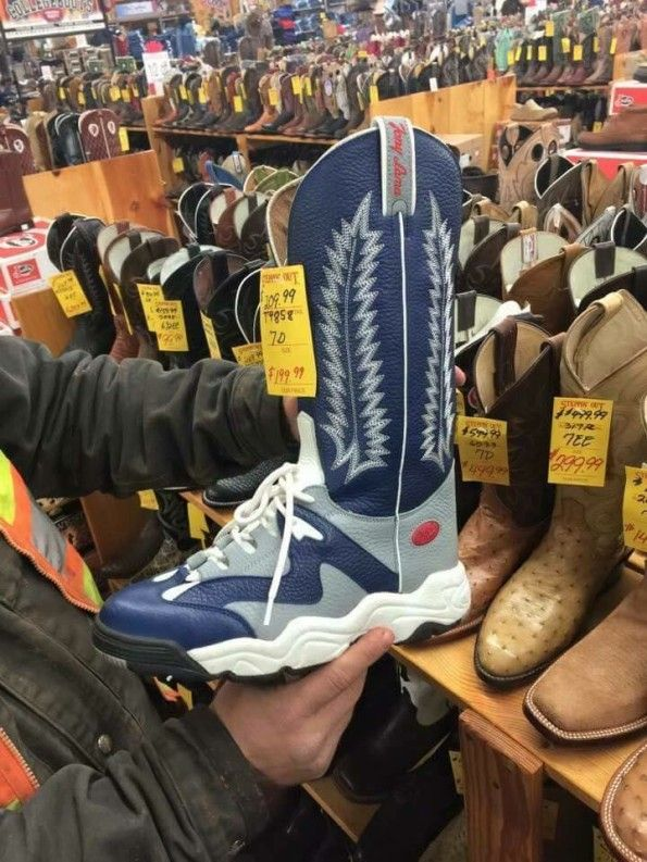 Athletic Cowboy Boots & More Incredible Links Joke of