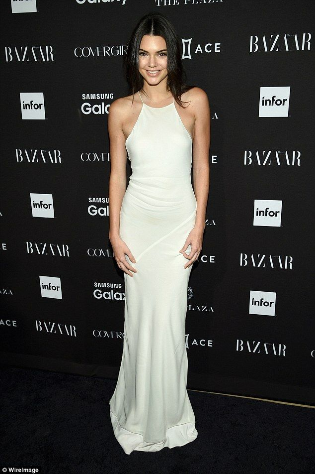 Kendall Jenner hits fashion high note in gown at Harper\'s Bazaar ...