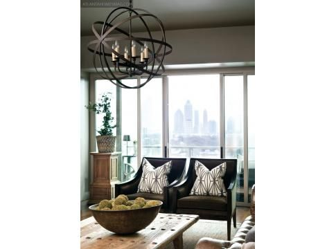 City Chic | Country Calm | Atlanta Homes & Lifestyles    .masculine style. warm and weathered.