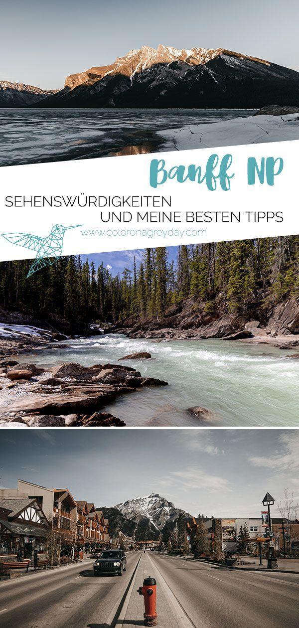 Banff Nationalpark - Tipps, Ausflüge & Sehenswürdigkeiten - coloronagreyday #travelnorthamerica