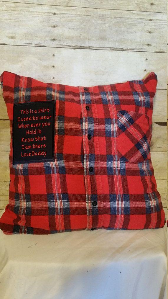 Pillows Memory Pillowcases Bereavement
