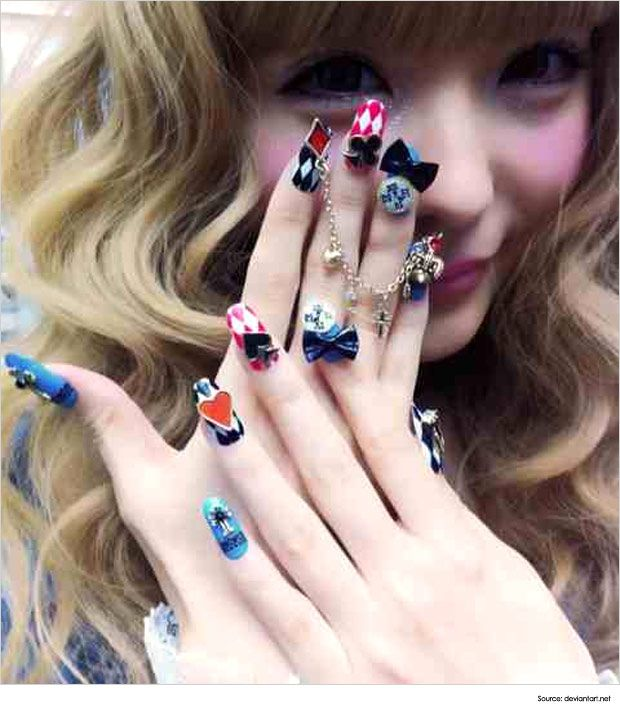 Japanese Nail Art For The Fashionista In You | Nail Art Ideas ...