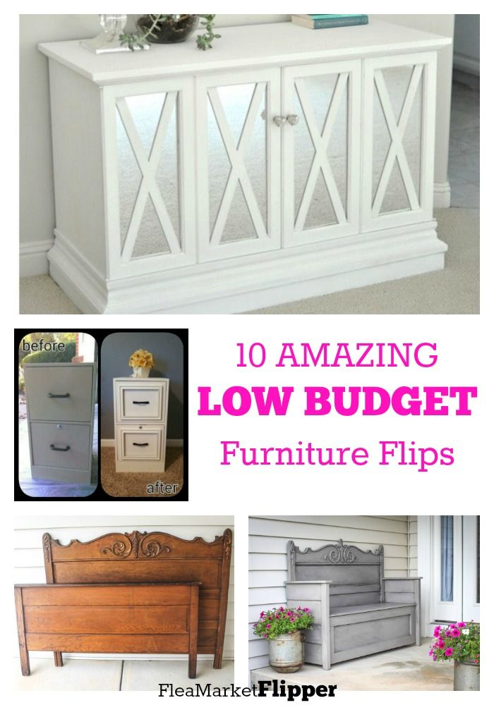 10 Budget Friendly Furniture Repurposes Repurposed Furniture