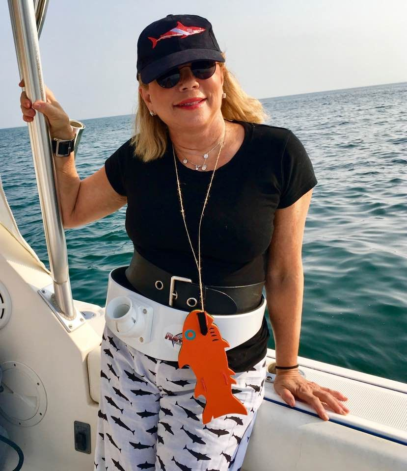 Our own Brenda Lee participating in the Osterville Anglers Club Ladies Shoal Troll raising money for Making Strides Against Breast Cancer of Cape Cod. www.ostervilleanglersclub.com/ladies-shoal-troll/