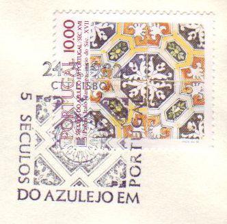 5 Séculos do Azulejo em Portugal, CTT Lisboa - 1982
