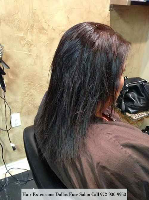 Hair Extensions By Expert Zoya Ghamari With Fuse Salon In Dallas