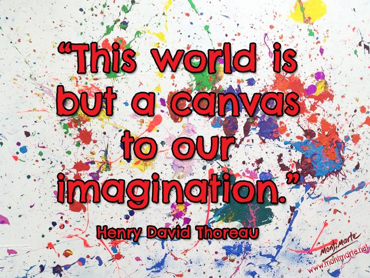 Image result for henry david thoreau quote creative visualization