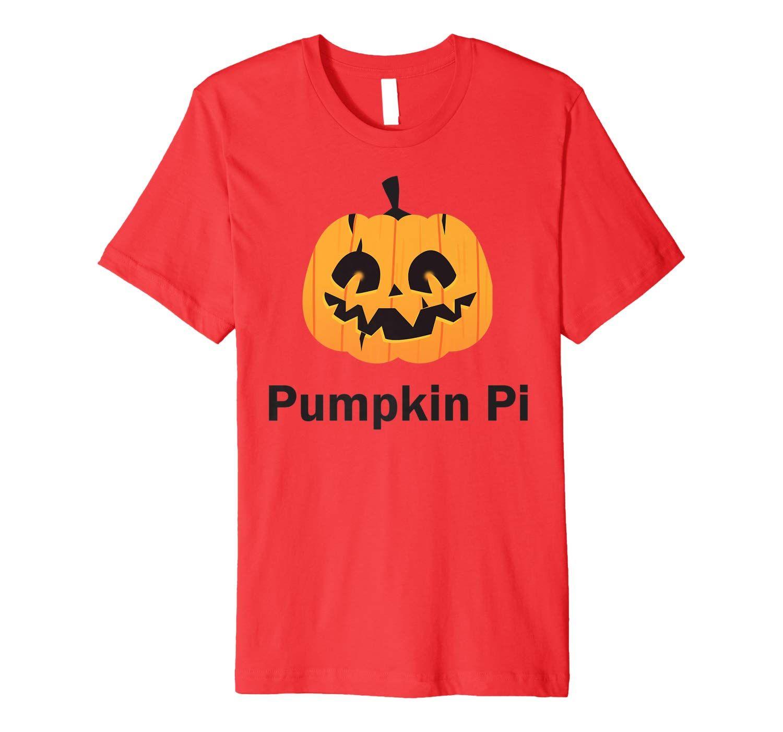 Pumpkin Pi Symbol Math Teacher Pi Pun Pie T Premium T