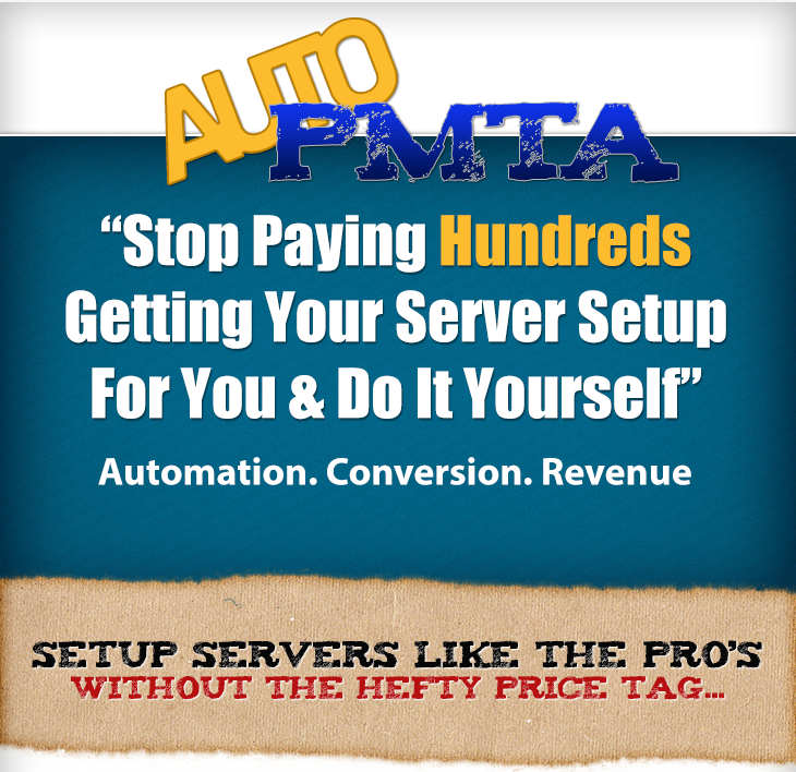 AutoPMTA Discount - Start Setting UP Email Servers Like The