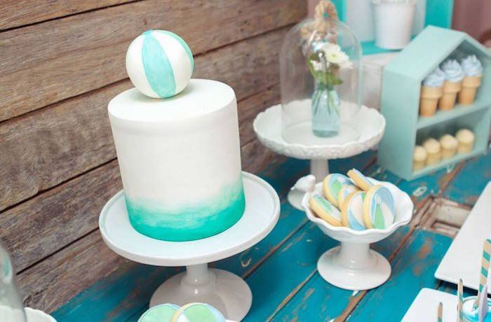 Pin for Later: Have a Ball With This Picturesque Beach-Themed Party