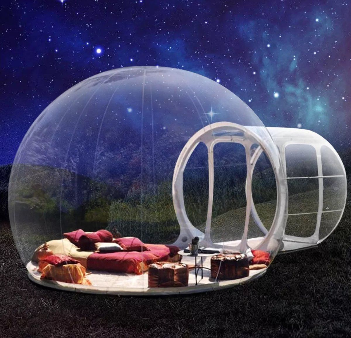 Bubble Tent Camping Dome Globe Gear Glamping Igloo Inflatable
