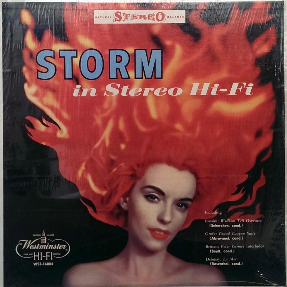 Various Storm In Stereo Hi Fi Westminster 1959 Early Stereo Demo Lp Records Albums Vinyl Vinyl Album Art Classic Album Covers Album Covers