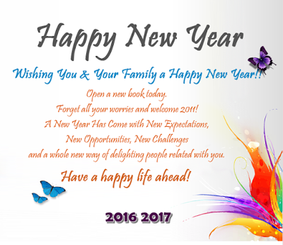 Top Happy New Year 2017 Wishes With HD Images ~ Happy New Year 2017 ...