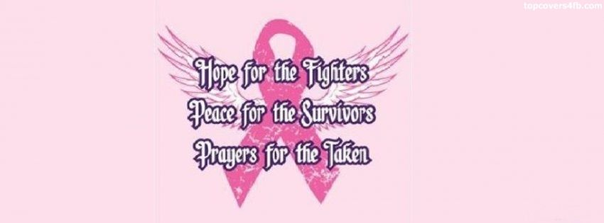 get our best breast cancer awareness facebook covers for you to use