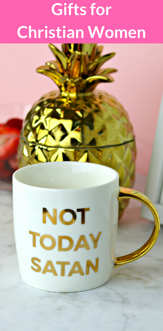 Gifts for Christian women, Not today satan mug, Christian coffee mug ...