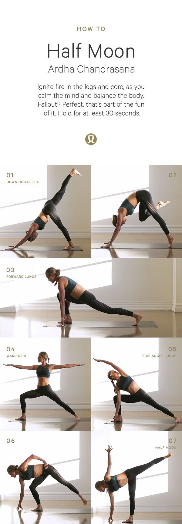 Half moon yoga set #pilatesyoga