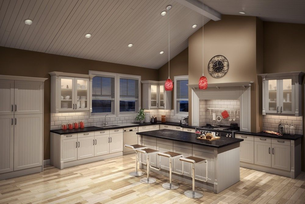 Recessed Led Lighting For Sloped Ceilings The Lighting Resource In 2019 Kitchen Ceiling