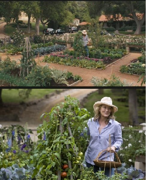 Its Complicated House: Vegetable Garden In Its Complicated Movie