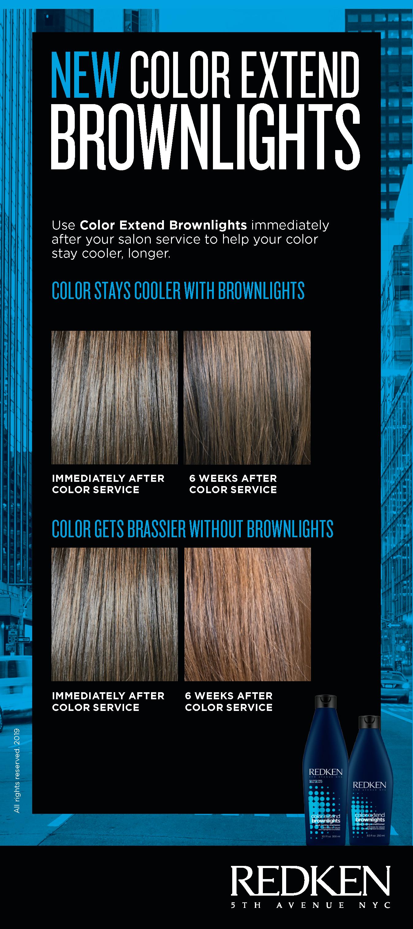 Blue Shampoo And Conditioner Color Extend Brownlights Redken Redken Color Shampoo
