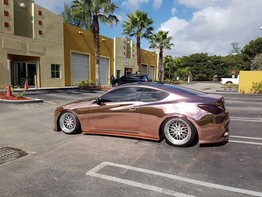 2017 VVIVID SP Conform Rose Gold Chrome | Car Goals | Rose