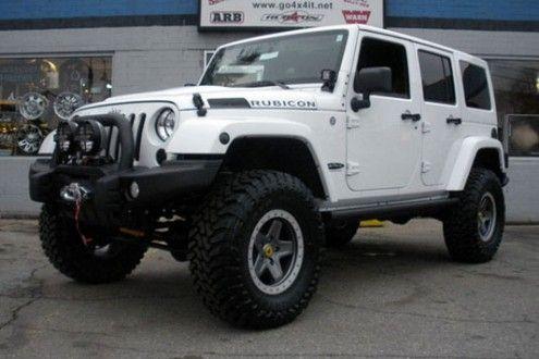 2013 white jeep wrangler unlimited rubicon jeep. Black Bedroom Furniture Sets. Home Design Ideas