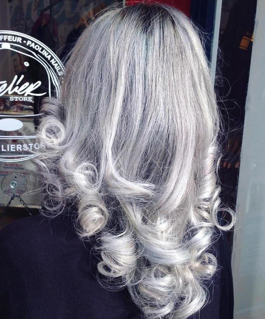 20 Shades of the Grey Hair Trend | Grey hair looks, Grey hair